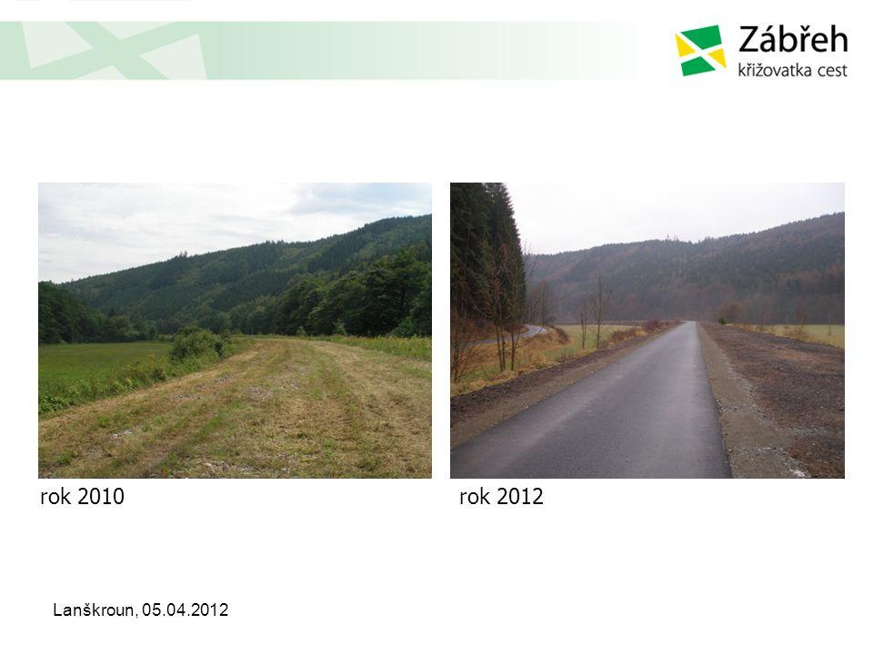 Lanškroun, 05.04.2012 rok 2010rok 2012