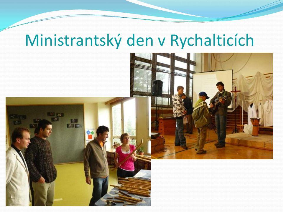 Ministrantský den v Rychalticích