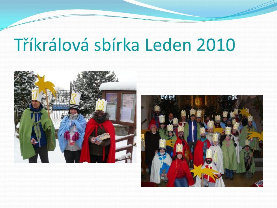 Tříkrálová sbírka Leden 2010