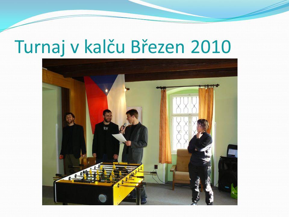 Turnaj v kalču Březen 2010