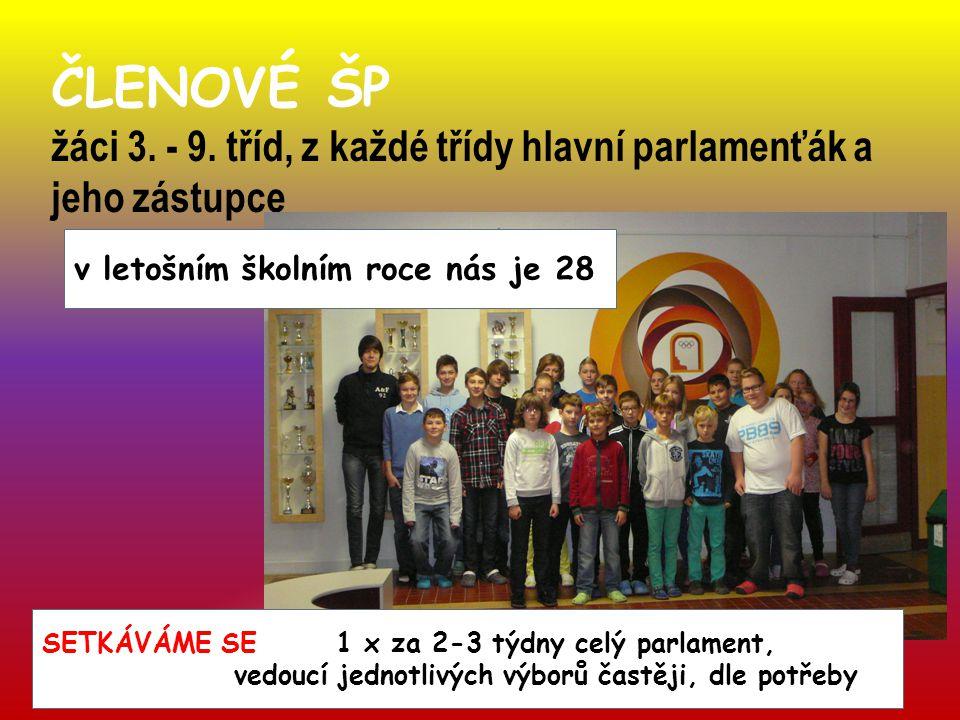 ČLENOVÉ ŠP žáci 3. - 9.