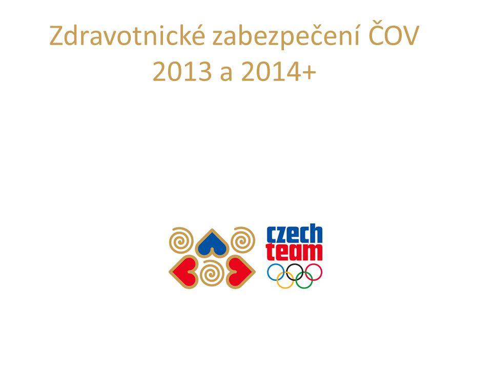 Zdravotnické zabezpečení ČOV 2013 a 2014+