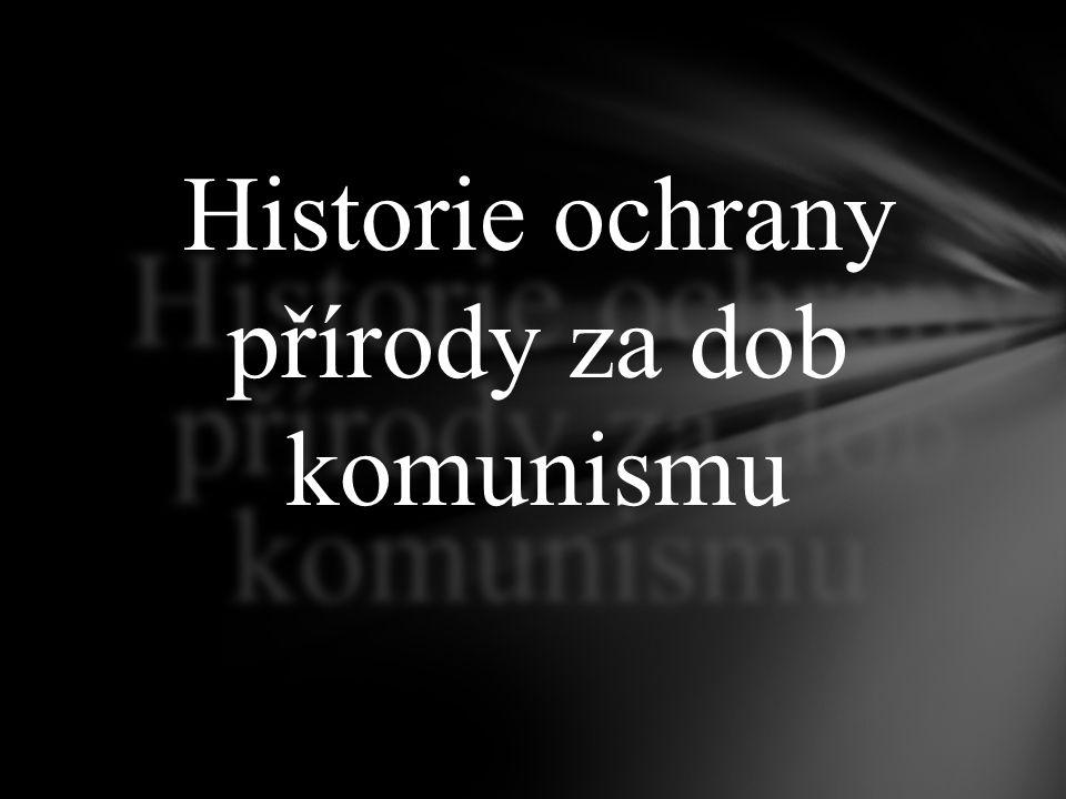 Éra komunismu se těžce podepsala na životním prostředí České republiky.