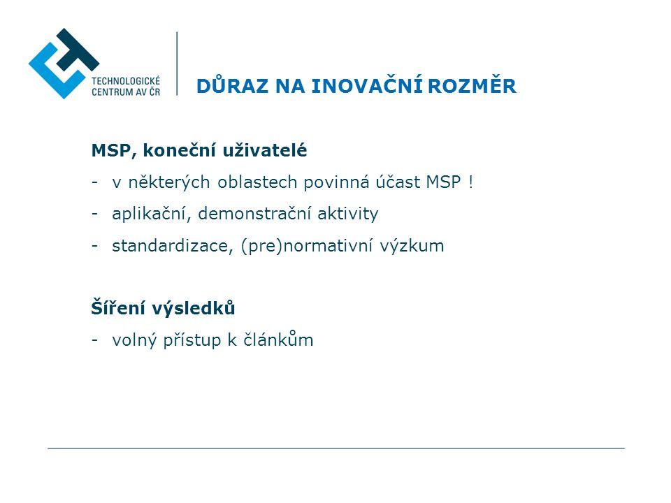 DOPLŇUJÍCÍ INFORMACE K PODÁNÍ PROJEKTŮ DO VÝZEV 2012 FP7-ENV-2012-one-stage - plný projektový návrh do 8.3.2012 - hodnotící kritéria: 1., 2., 3.