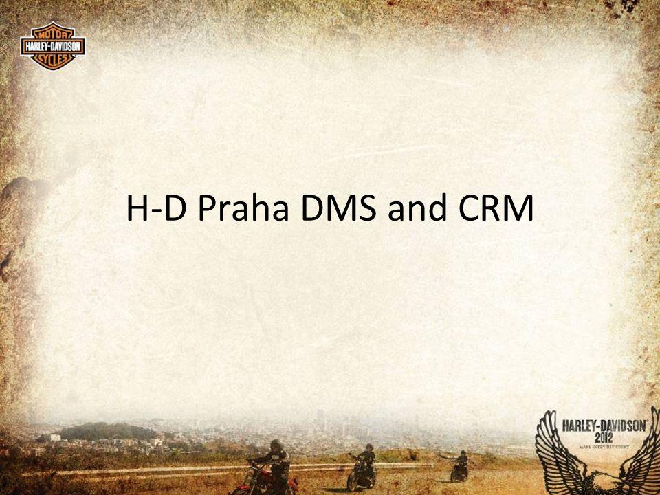H-D Praha DMS and CRM