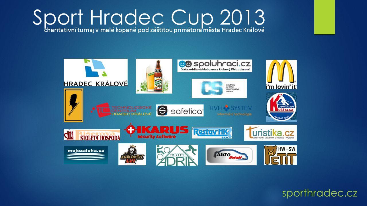 sporthradec.cz Sport Hradec Cup 2013 charitativní turnaj v malé kopané pod záštitou primátora města Hradec Králové