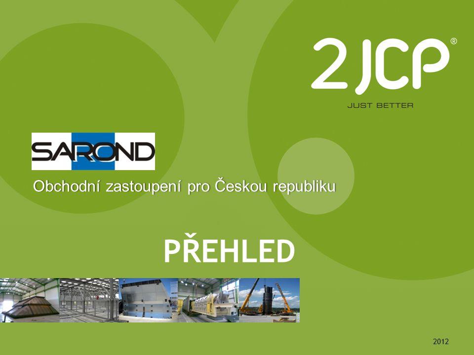 2012 PŘEHLED Obchodní zastoupení pro Českou republikuObchodní zastoupení pro Českou republiku