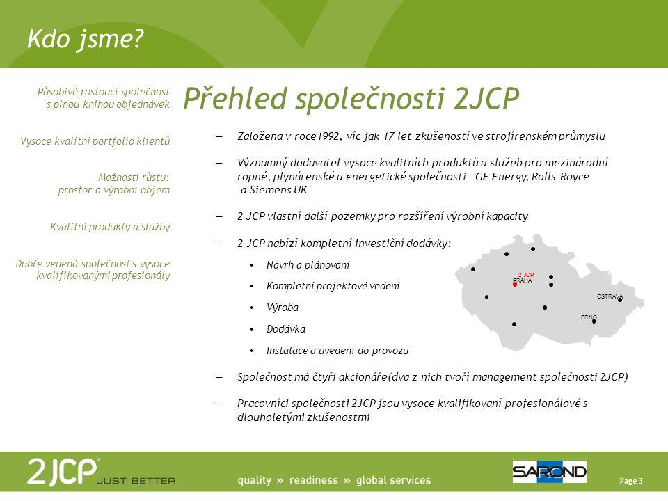 Page 24 2 JCP a.s.Račice 126, 411 08 Štětí Czech Republic T.