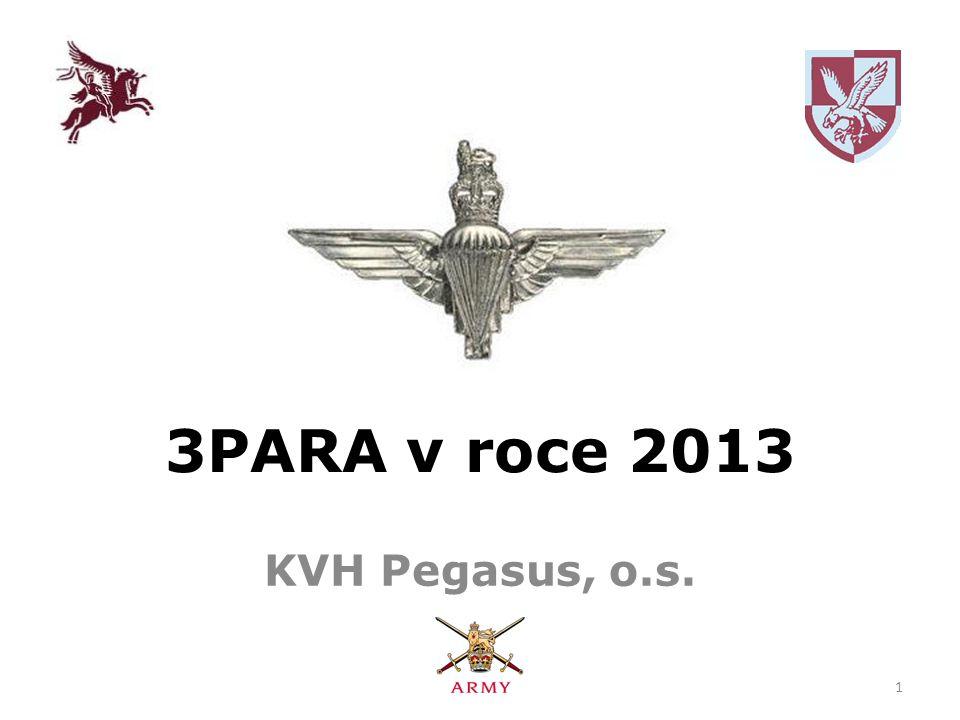 3PARA v roce 2013 KVH Pegasus, o.s. 1
