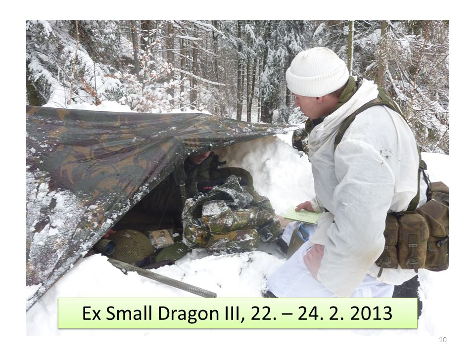 10 Ex Small Dragon III, 22. – 24. 2. 2013