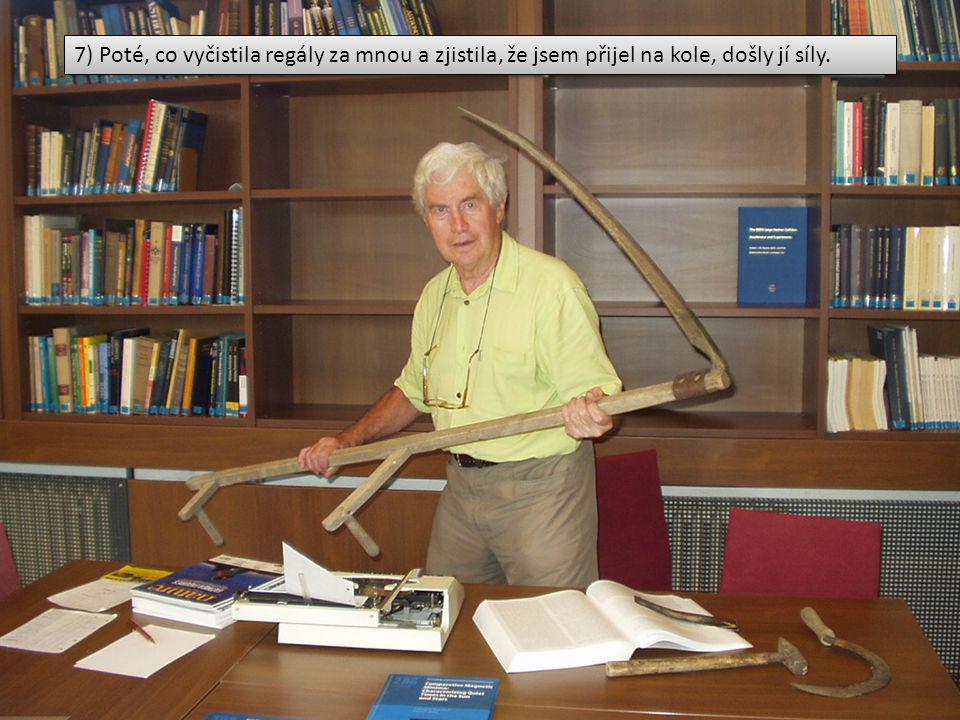18) Příprava nástrojů na žeň objevů.