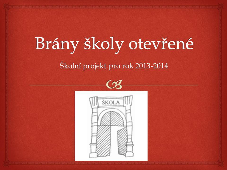 Školní projekt pro rok 2013-2014