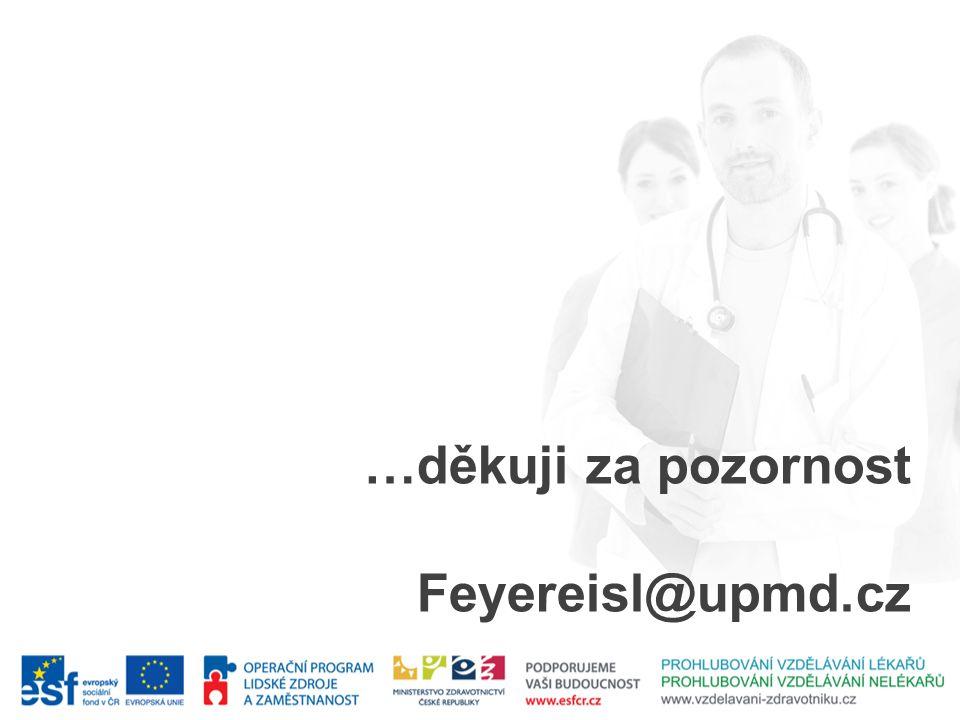 …děkuji za pozornost Feyereisl@upmd.cz