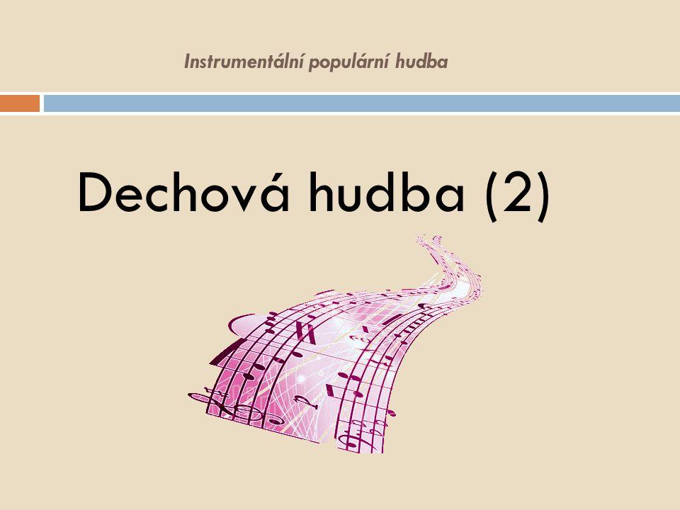 Instrumentální populární hudba Dechová hudba (2)