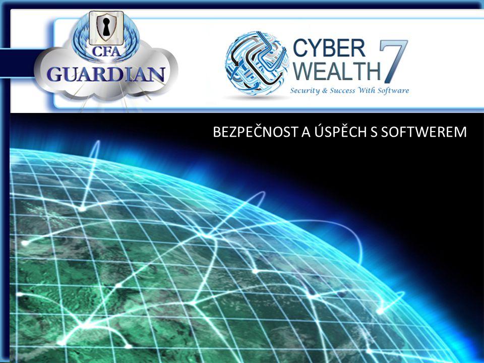 CyberWealth7 představuje: programové vybavení CFA GUARDIAN™ a zastaví všechny keylogger zloději.