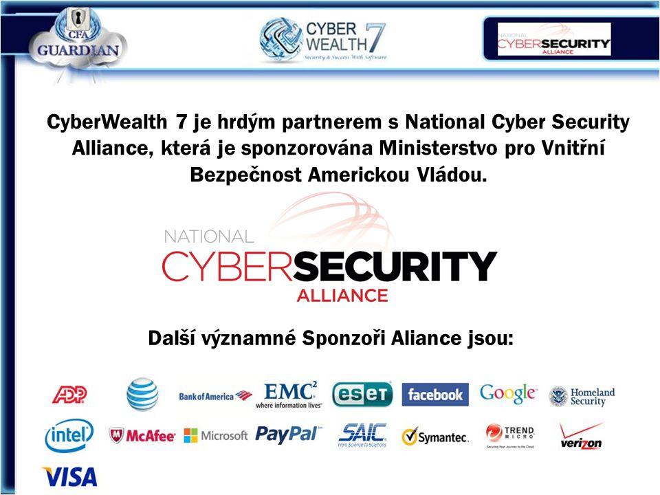 CyberWealth 7 je hrdým partnerem s National Cyber Security Alliance, která je sponzorována Ministerstvo pro Vnitřní Bezpečnost Americkou Vládou.