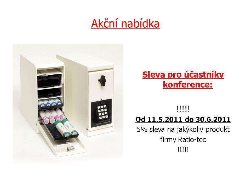 Akční nabídka Sleva pro účastníky konference: !!!!.