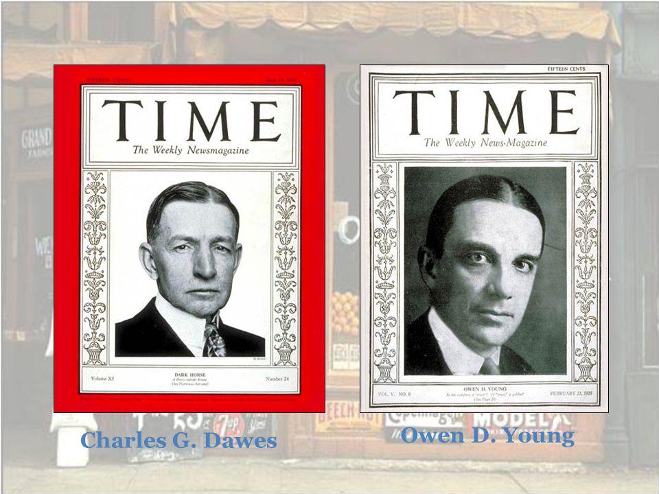 Charles G. Dawes Owen D. Young