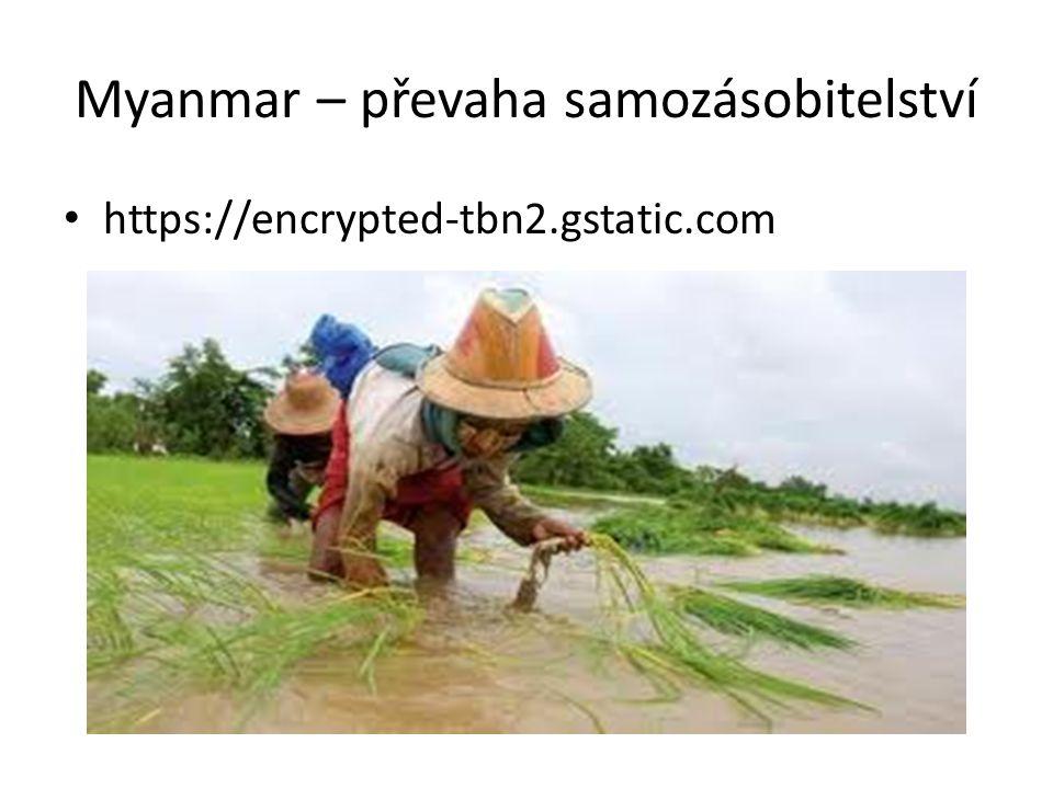 Myanmar – převaha samozásobitelství • https://encrypted-tbn2.gstatic.com