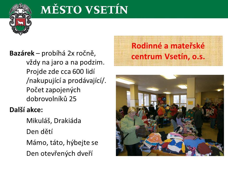 Česká spořitelna  zapojeny 2 dobrovolnice, pomoc při mytí oken, sběru šatstva Kooperativa pojišťovna, a.s.