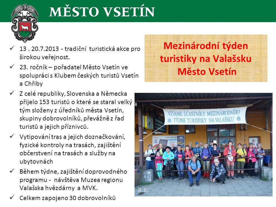  13. 20.7.2013 - tradiční turistická akce pro širokou veřejnost.