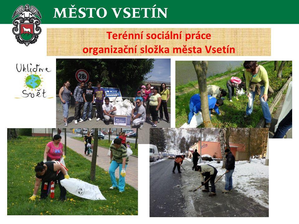 Terénní sociální práce organizační složka města Vsetín