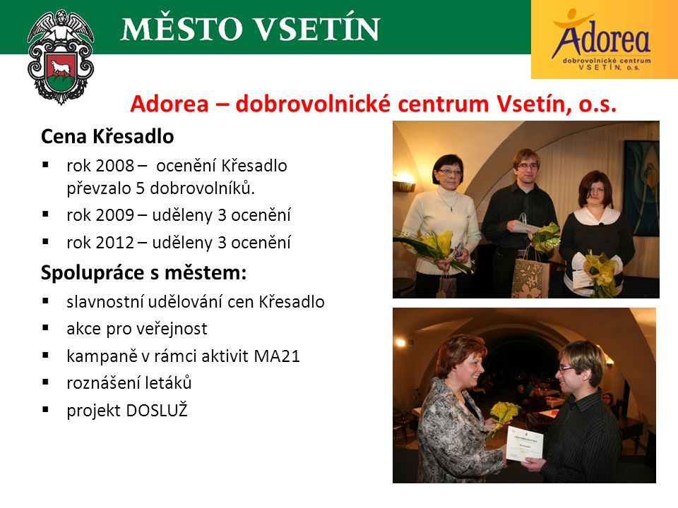 Adorea – dobrovolnické centrum Vsetín, o.s.
