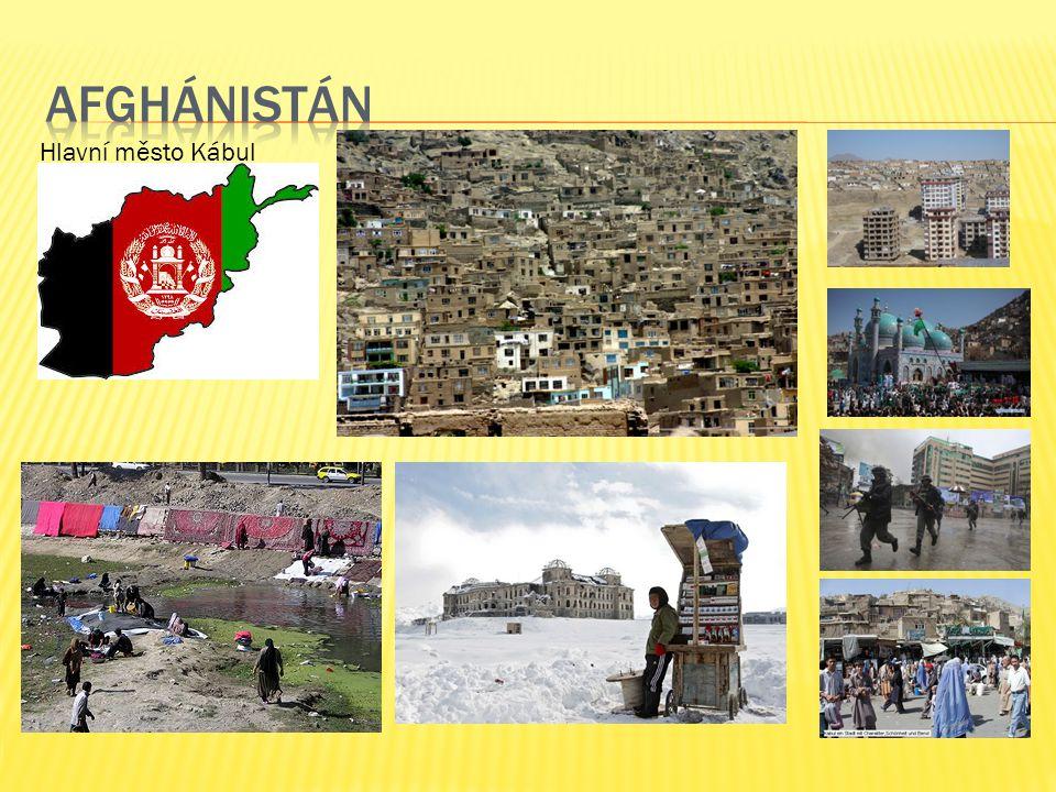 Hlavní město Kábul
