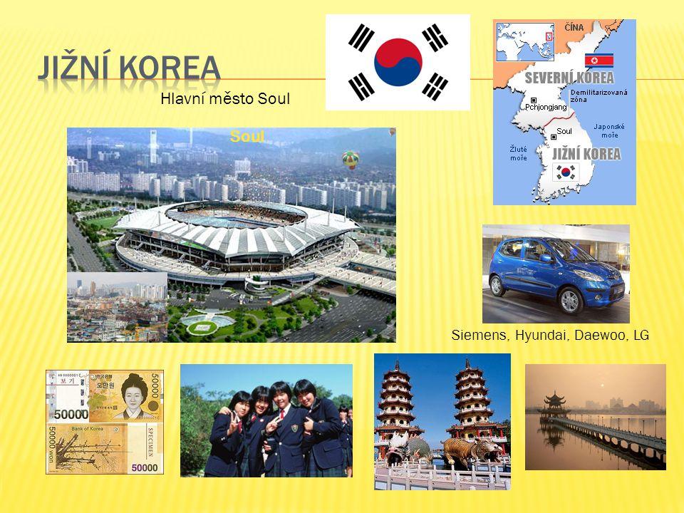 Siemens, Hyundai, Daewoo, LG Hlavní město Soul Soul