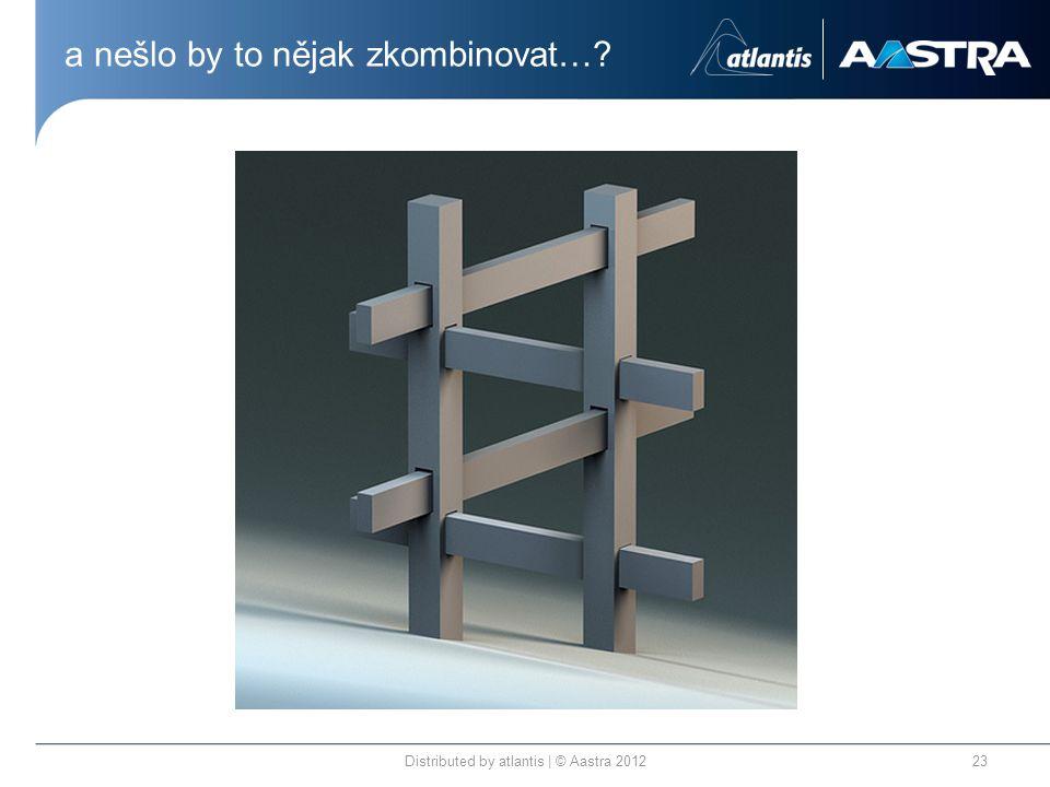 a nešlo by to nějak zkombinovat… Distributed by atlantis | © Aastra 201223