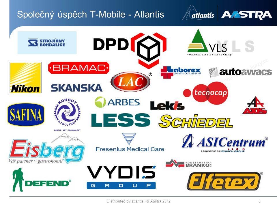 Společný úspěch T-Mobile - Atlantis Distributed by atlantis | © Aastra 20123
