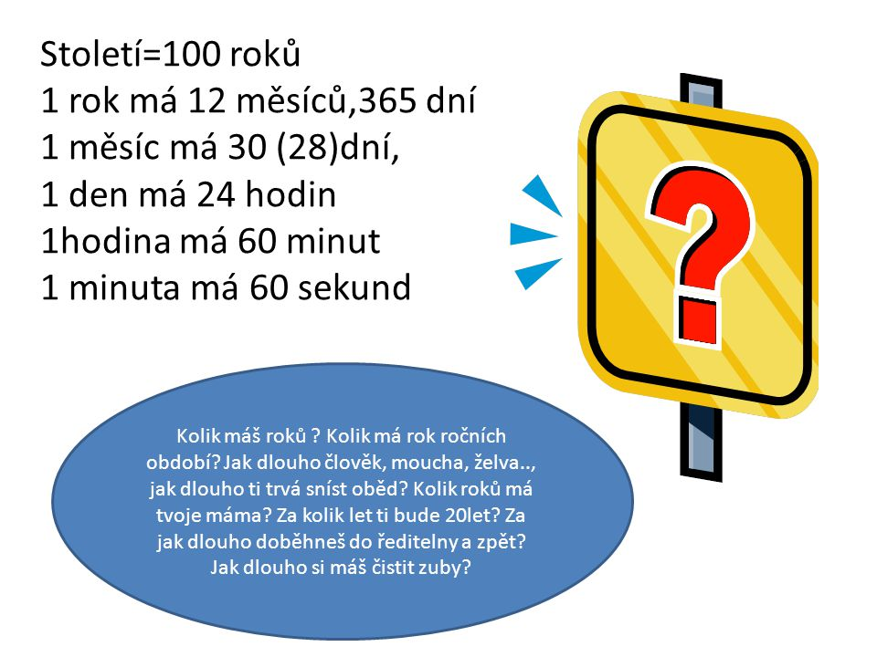 Obrázek otazníku použit z klipartu MS.