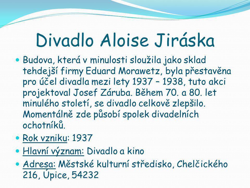 Divadlo Aloise Jiráska