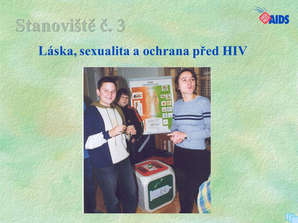 Láska, sexualita a ochrana před HIV