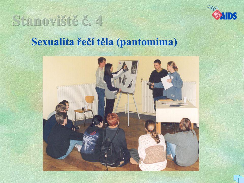 Sexualita řečí těla (pantomima)