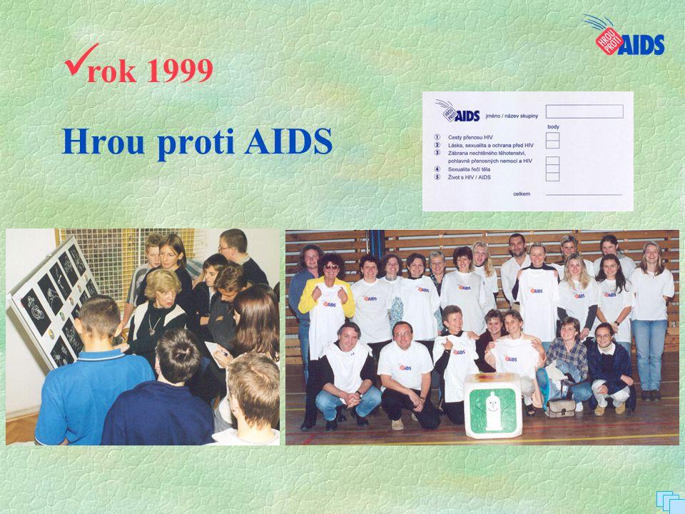 Hrou proti AIDS  rok 1999