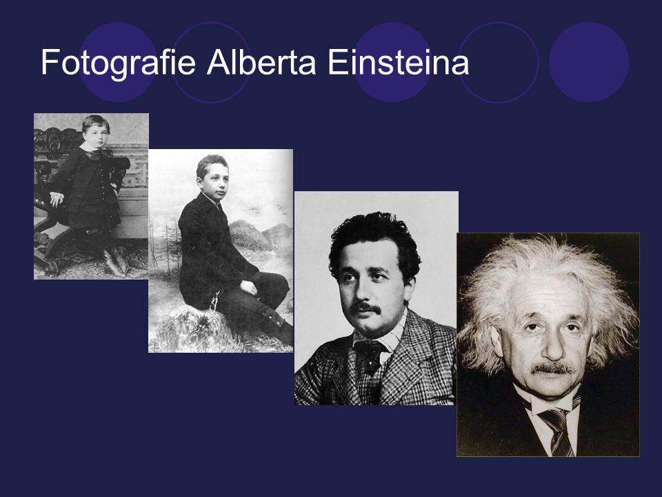 Fotografie Alberta Einsteina