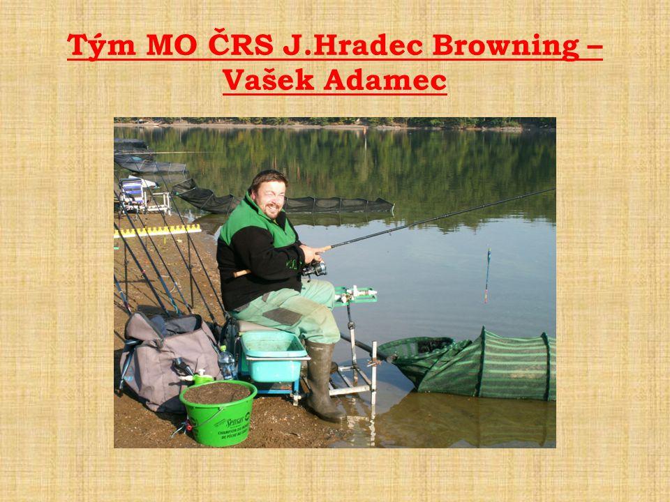 Tým MO ČRS J.Hradec Browning – Vašek Adamec
