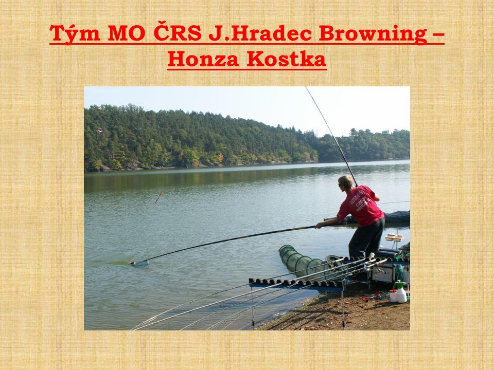 Tým MO ČRS J.Hradec Browning – Honza Kostka