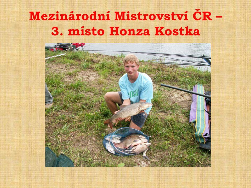 Mezinárodní Mistrovství ČR – 3. místo Honza Kostka