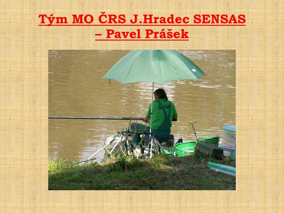 Tým MO ČRS J.Hradec SENSAS – Pavel Prášek
