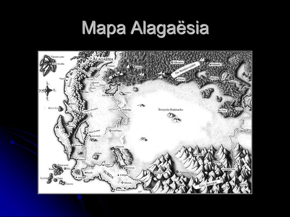Mapa Alagaësia