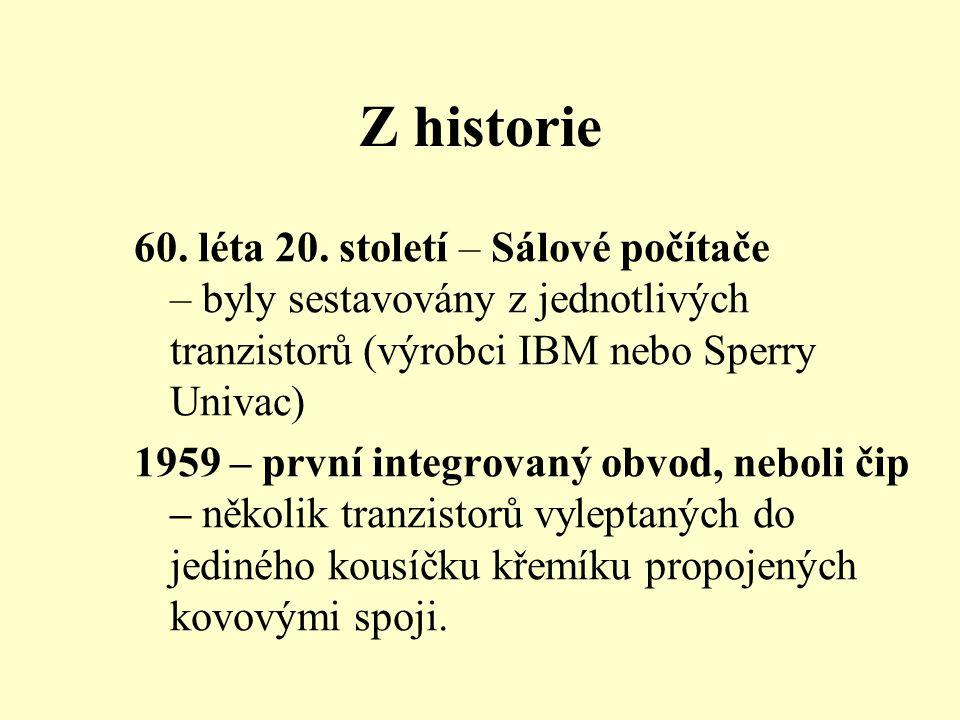 Z historie 60. léta 20.