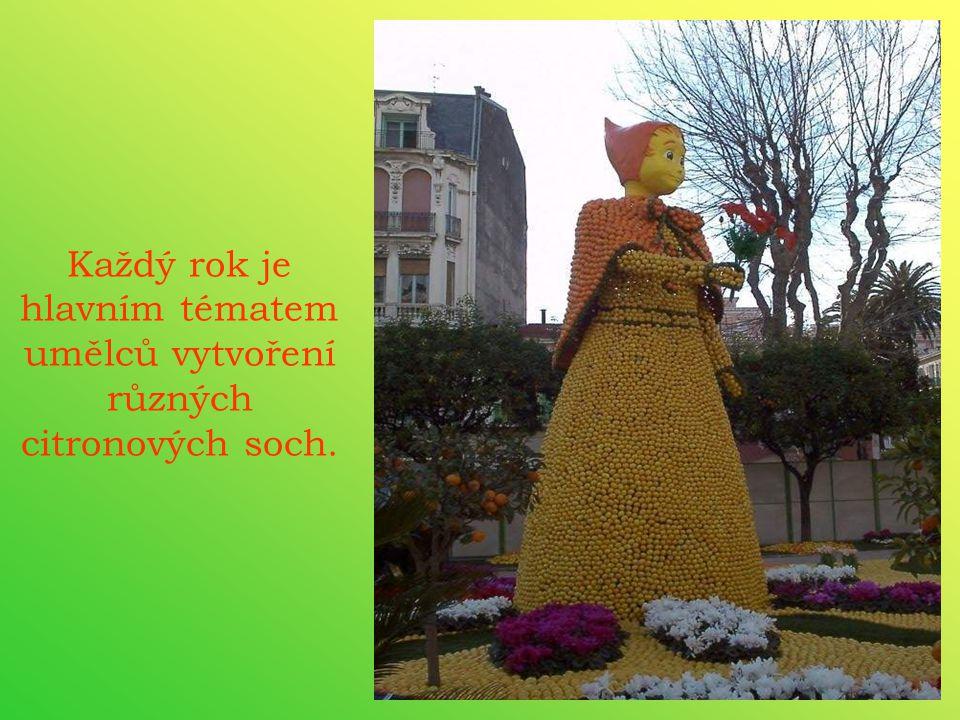 Město Mentol se promění ve scénu jednoho nejpůvabnějšího festivalu citronů.