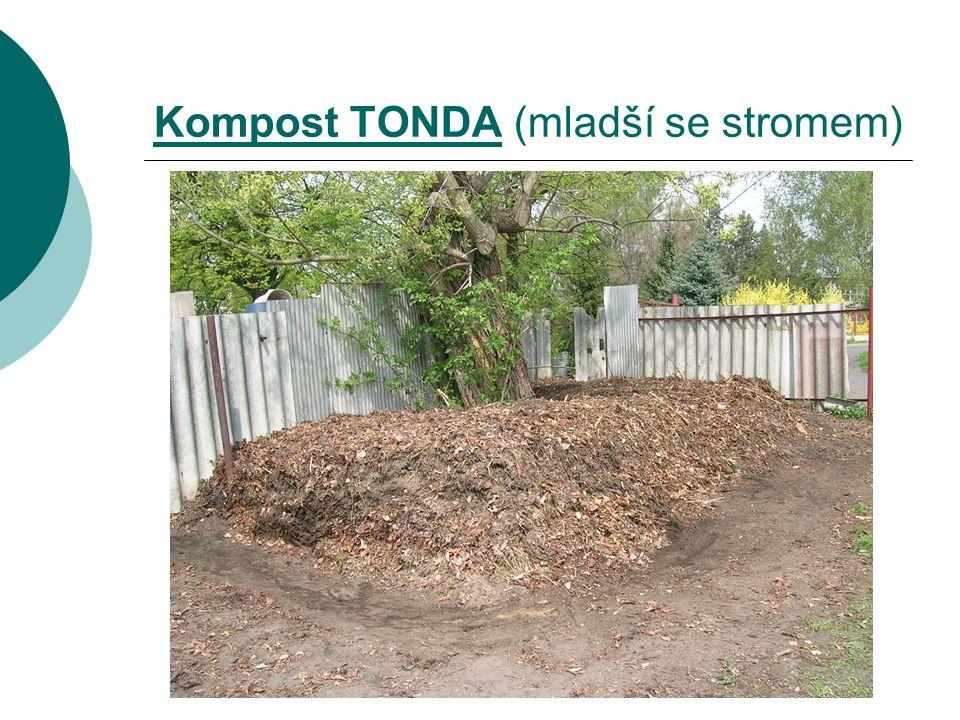 Kompost TONDA (mladší se stromem)
