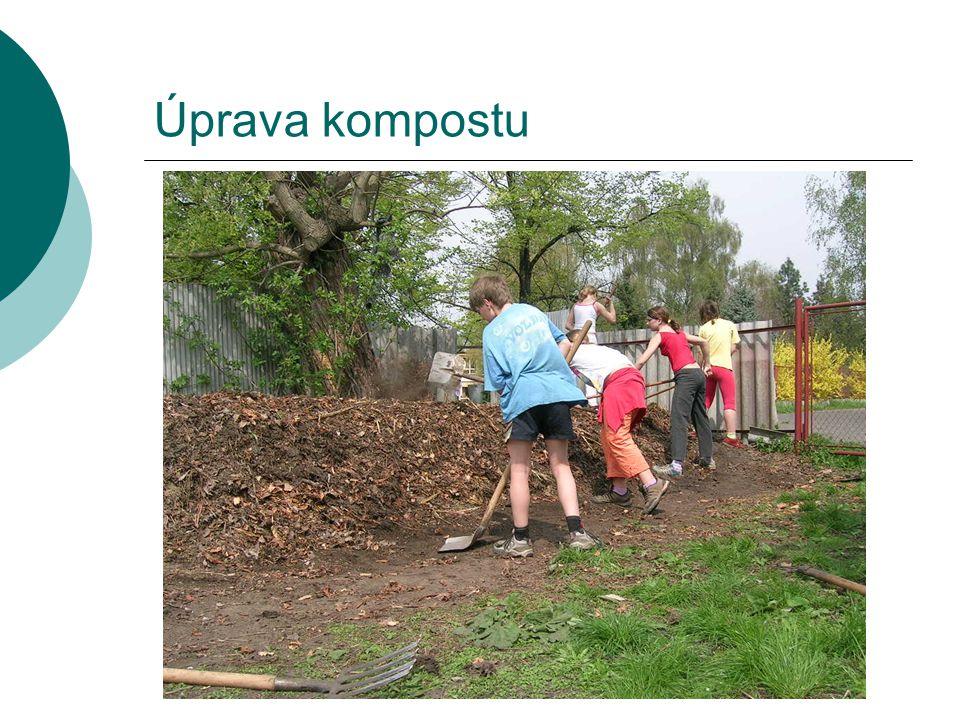 Úprava kompostu