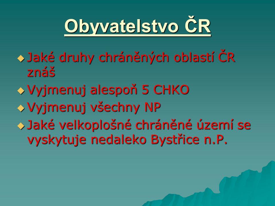 Obyvatelstvo ČR  V ČR žije 10 501 197 (77.