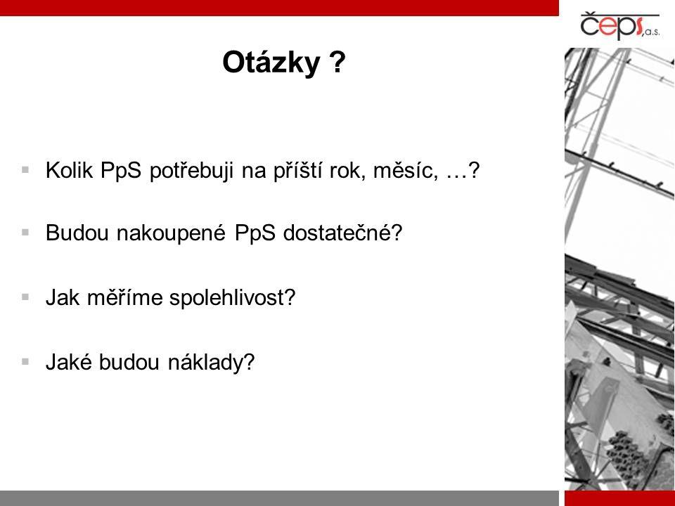 Řešení  Spolehlivost a ekonomie systémových služeb (SESyS)  Dlouhodobý projekt ve spolupráci: –ČEPS, a.s –CAK FEL ČVUT v Praze –CAK FAV ZČU v Plzni