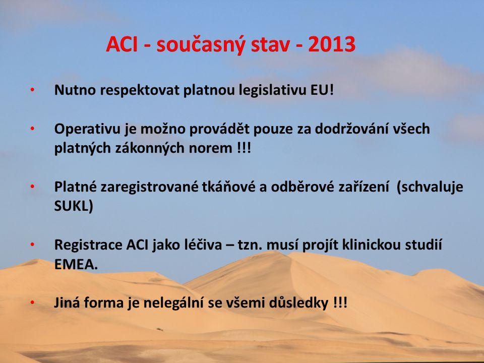 • Nutno respektovat platnou legislativu EU! • Operativu je možno provádět pouze za dodržování všech platných zákonných norem !!! • Platné zaregistrova