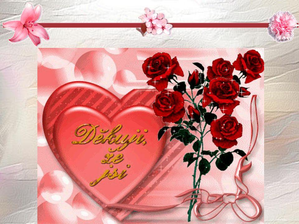 Děkuji za krásný rok, však k dalšímu je jenom krok. Přeji nám, ať dlouhá léta, naše láska jenom vzkvétá. ….. …